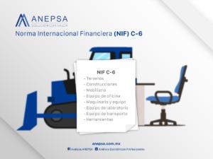 Norma internacional financiera NIF C-6