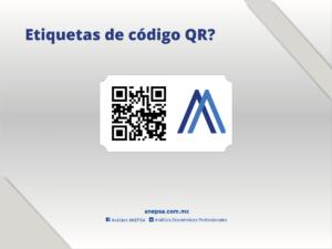 Etiquetas de codigo QR